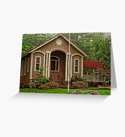 Cragsmoor Library Greeting Card