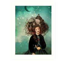 Sleeping beauty's dream Art Print
