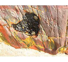 Coloured Cleft of the Rock Photographic Print