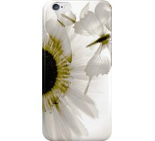 transparence in grey iPhone Case/Skin