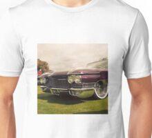 1960 Caddy at Car Show Unisex T-Shirt