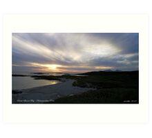 Sanna Bay   Ardnamurchan Point Art Print