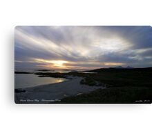 Sanna Bay   Ardnamurchan Point Canvas Print