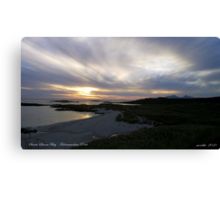 Sanna Bay   Ardnamurchan Point Canvas Print