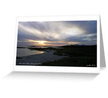 Sanna Bay   Ardnamurchan Point Greeting Card