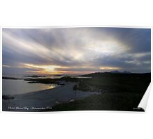 Sanna Bay   Ardnamurchan Point Poster