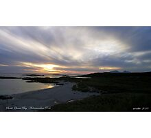 Sanna Bay   Ardnamurchan Point Photographic Print