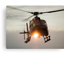 ABC Helicopter Canvas Print