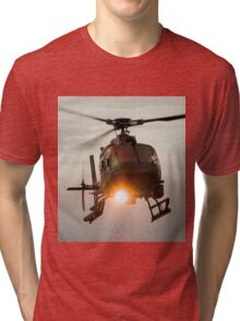 ABC Helicopter Tri-blend T-Shirt