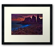 Dusk at The Pinnacles #2 Framed Print
