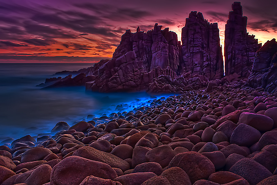 Dusk at The Pinnacles #2 by Jason Green
