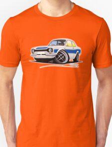 Ford Escort (Mk1) RS2000 White Unisex T-Shirt
