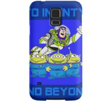 Toy Story Buzz Lightyear To Infinty And Beyond Samsung Galaxy Case/Skin