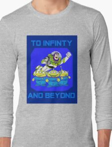 Toy Story Buzz Lightyear To Infinty And Beyond Long Sleeve T-Shirt