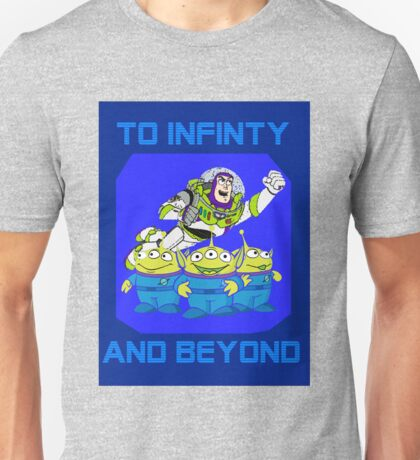 Toy Story Buzz Lightyear To Infinty And Beyond Unisex T-Shirt