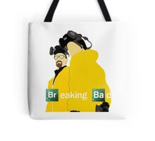 Jesse and Walt - Breaking Bad (with Logo) Tote Bag