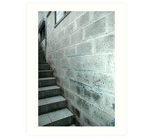 concrete wall Art Print