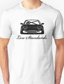 Low Standards Decal - Black Unisex T-Shirt