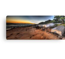 Better days  - Long Reef Aquatic Park, Sydney (28 Exposure HDR Panoramic) - The HDR Experience Metal Print