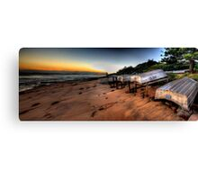 Better days  - Long Reef Aquatic Park, Sydney (28 Exposure HDR Panoramic) - The HDR Experience Canvas Print