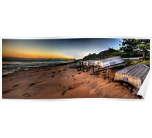 Better days  - Long Reef Aquatic Park, Sydney (28 Exposure HDR Panoramic) - The HDR Experience Poster