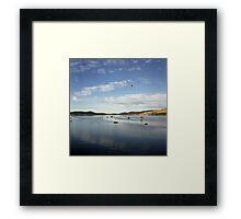 Boomer Bay, Dunalley Framed Print