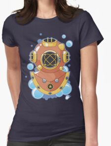 Vector Diving Helmet Womens Fitted T-Shirt