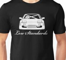 Low Standards Decal - White Unisex T-Shirt
