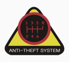 Anti-Theft System (Pattern 4) (dark) Baby Tee