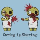 Zomibe Ward - Caring is Sharing  by Tracey Quick