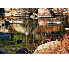 River Rock Abstract Photographic Print