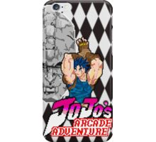 Jojo's Arcade Adventure iPhone Case/Skin