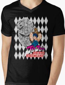Jojo's Arcade Adventure Mens V-Neck T-Shirt