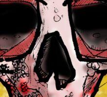 skull t Sticker