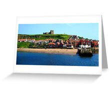 Whitby Town Greeting Card