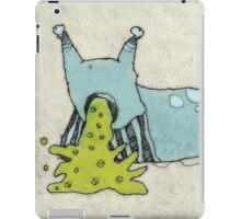 Vomit Slug ... a Future Foodstuff iPad Case/Skin