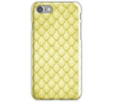 Dragon Scales - Gold iPhone Case/Skin