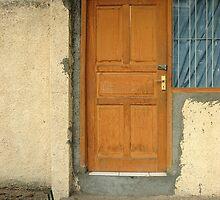 a wooden door by bayu harsa