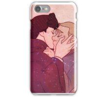 Johnlock Kiss iPhone Case/Skin