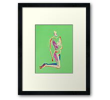 Red arms Framed Print