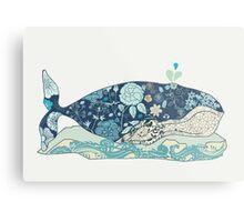 a blue whale Metal Print