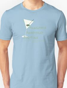 Hawkeye's Homemade Martinis T-Shirt