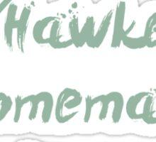 Hawkeye's Homemade Martinis Sticker