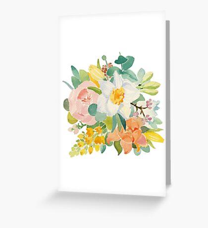 Spring bouguet Greeting Card