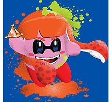 Kirby Squid Star Photographic Print