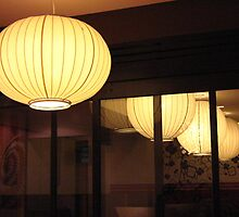 Japanese lantern reflection by crazybeakz