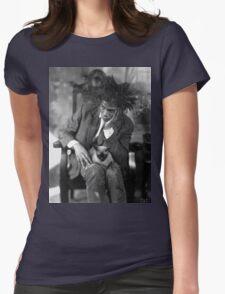 Basquiat Womens Fitted T-Shirt