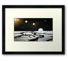 Planet 5 Framed Print