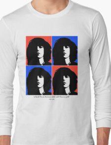 Patti Smith- American Artist Long Sleeve T-Shirt