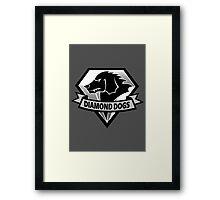 Diamond Dogs - 2015 Edition  (MGSV) Framed Print